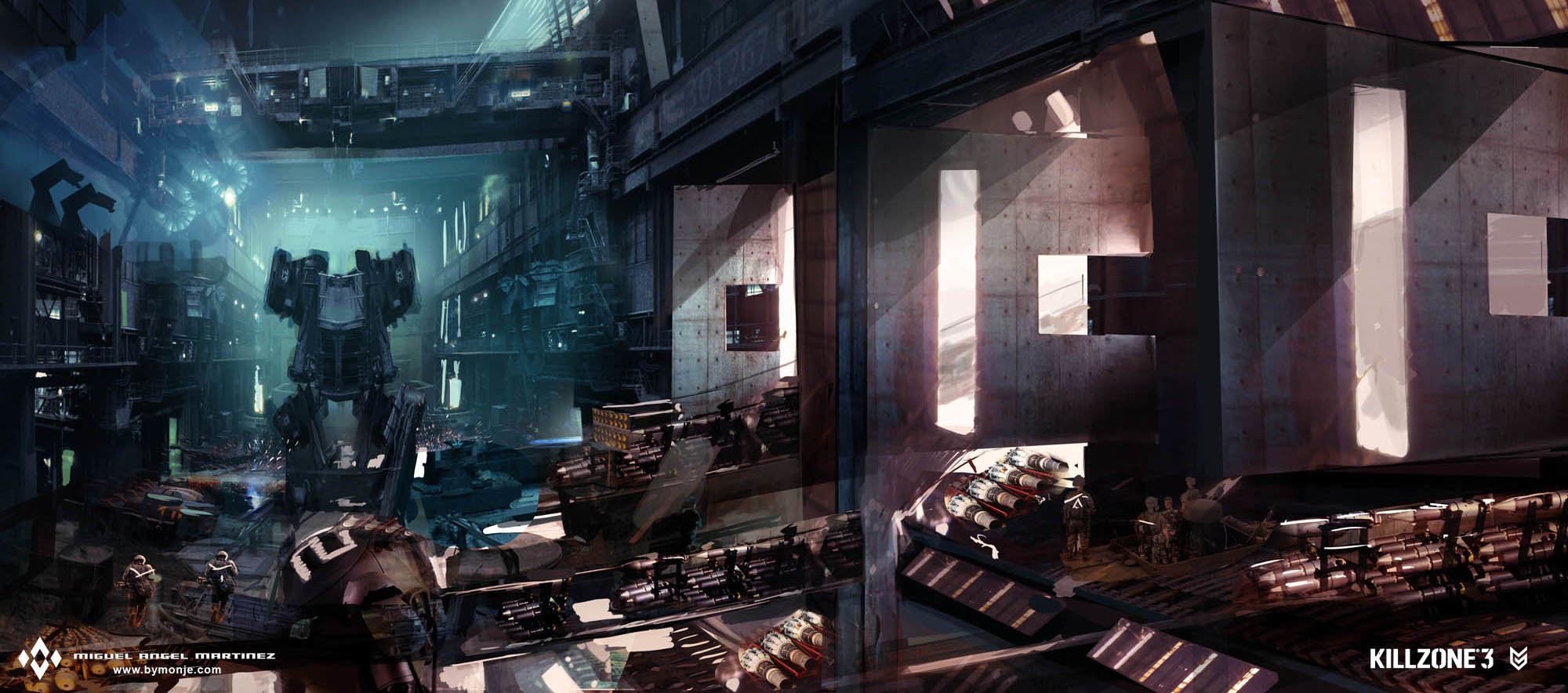 killzone-3-facility-assembly-line-concept-art-miguel-bymonje