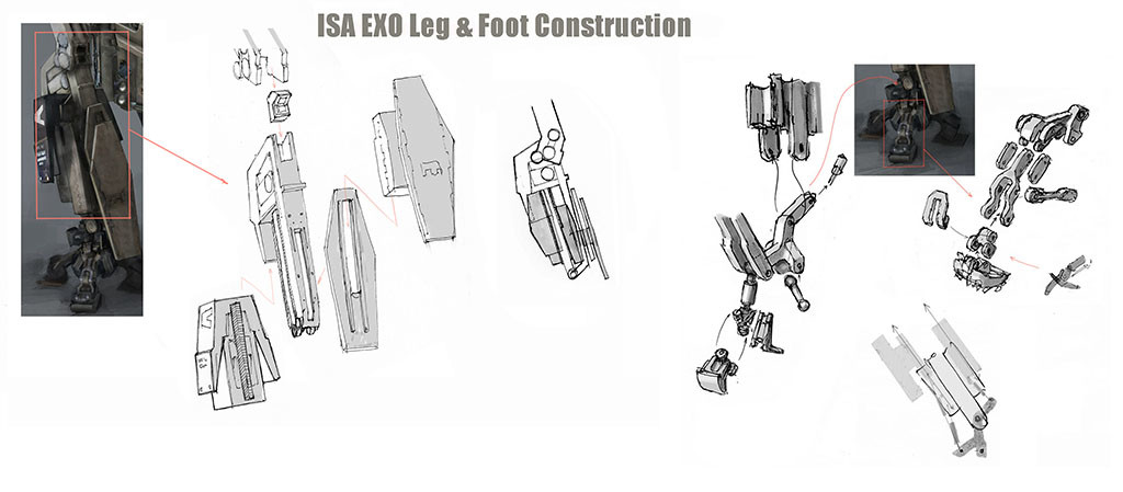killzone-2-ISA-EXO-leg-and-foot-construction-concept-art-miguel-bymonje