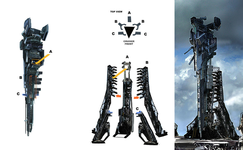 killzone-2-ISA-cruiser-launch-tower-concept-art-miguel-bymonje