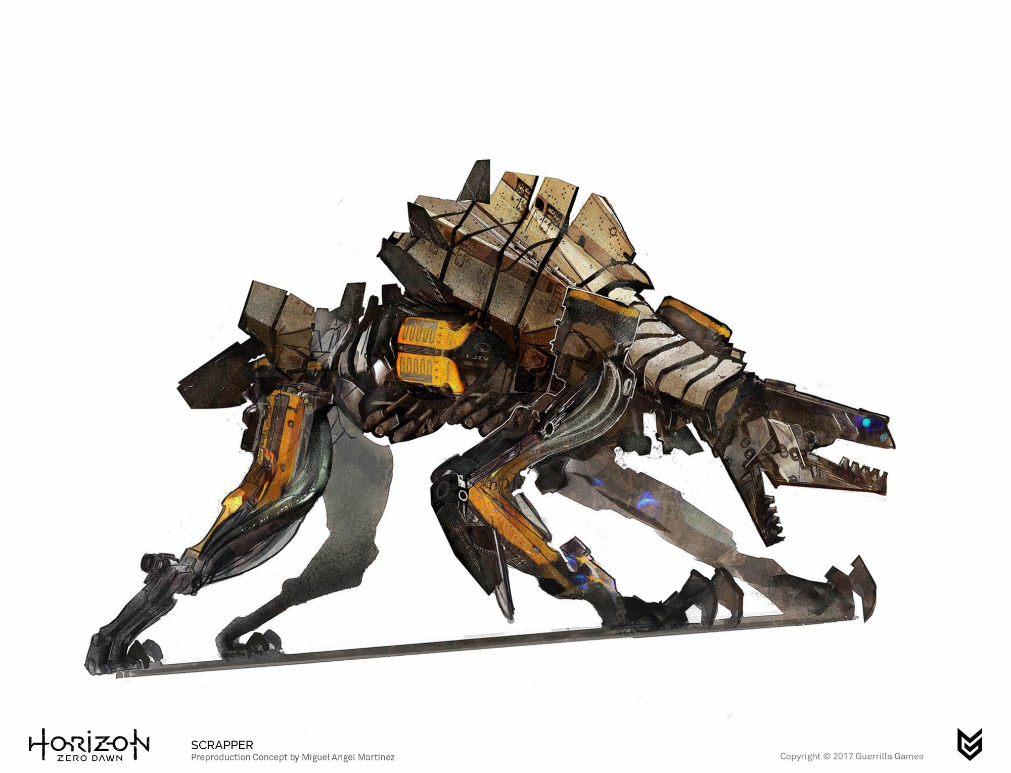 Horizon-Zero-Dawn-Scrapper-robot-concept-art-Miguel-Angel-Martinez